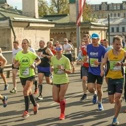 The 27th Lattelecom Riga Marathon - Evelina Parhomenko (3155), Oleg Vladimirov (5713)