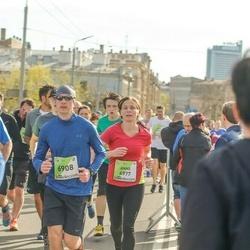 The 27th Lattelecom Riga Marathon - Anne Kainlauri (4977), Juris Misters (6908)