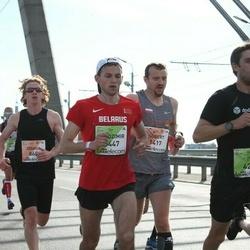 The 27th Lattelecom Riga Marathon - Joshua Dennison (865), Allan Männi (1122), Robert Zając (1417), Ivo Rudinskis (4296), Uiadzimir Zhurauliou (5447)