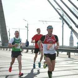 The 27th Lattelecom Riga Marathon - Luca Sandri (1403), Gintaras Andruška (3587)