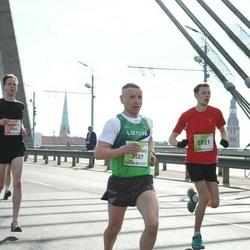 The 27th Lattelecom Riga Marathon - Gintaras Andruška (3587), Rūdolfs Ratfelders (5921)