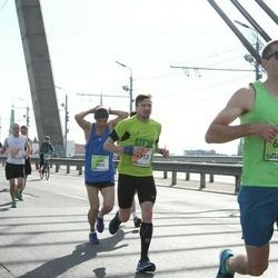 The 27th Lattelecom Riga Marathon - Nikolajs Saulītis (1913), Juris Moisejevs (5025), Aigars Silkalns (6823)