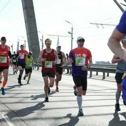 The 27th Lattelecom Riga Marathon - Aliaksandr Shkuhal (3157), Salvis Brasavs (5576), Pēteris Kaļinins (6811)
