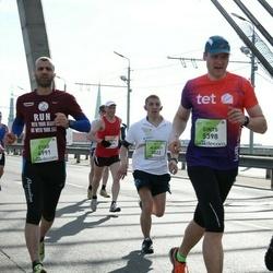 The 27th Lattelecom Riga Marathon - Alexey Zhirenkov (3022), Eyad Salama (4991), Gints Bukovskis (5398)