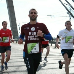 The 27th Lattelecom Riga Marathon - Alexey Zhirenkov (3022), Eyad Salama (4991), Renārs Andersons (6414)