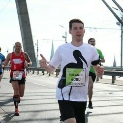 The 27th Lattelecom Riga Marathon - Aleksejs Belokopitovs (397), Rolands Zvejnieks (4080)