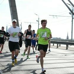 The 27th Lattelecom Riga Marathon - Ģirts Majors (5075), Aigars Cibuļskis (5182)