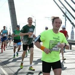 The 27th Lattelecom Riga Marathon - Mārtiņš Ozols (1711), Alexey Alekseev (4544)