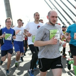 The 27th Lattelecom Riga Marathon - Ats Haas (910), Aleksejs Smirnovs (4322), Maarten Lemken (5728)