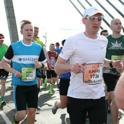 The 27th Lattelecom Riga Marathon - Ilmārs Kelmers (1736), Aidas Pelenis (3072)