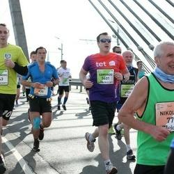 The 27th Lattelecom Riga Marathon - Andris Petersons (630), Aleksandrs Zvidriņš (4543), Edmunds Garančs (5601)