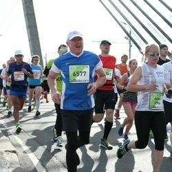 The 27th Lattelecom Riga Marathon - Indra Muižniece (2904), Aigars Liepiņš (6577)