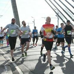 The 27th Lattelecom Riga Marathon - Patrick Vanbaelinghem (771), Gragera Barril Antonio (7119), Alvaro Vinegla Calderon (7123)