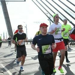 The 27th Lattelecom Riga Marathon - Alessandro Seren (689), Ēriks Bogdanovs (4369)