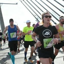 The 27th Lattelecom Riga Marathon - Aigars Bergs (5516), Inese Neilande (6310)