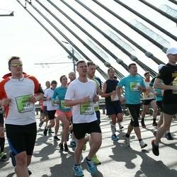 The 27th Lattelecom Riga Marathon - Andis Kovaļevskis (4429), Armands Rudņickis (5207)