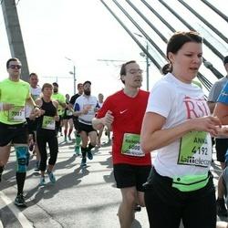 The 27th Lattelecom Riga Marathon - Anna Viljamaa (4192), Gints Andžāns (7001)