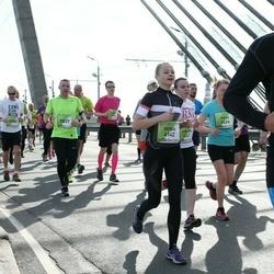 The 27th Lattelecom Riga Marathon - Gerda Valiūnaitė (4142), Agnis Kauliņš (5837)
