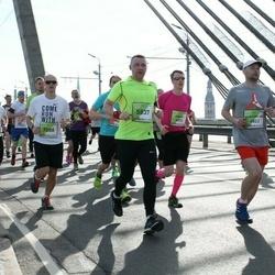 The 27th Lattelecom Riga Marathon - Maksymilian Szeliga (4823), Agnis Kauliņš (5837), Marek Kahr (7088), Miraslau Strohanau (7126)