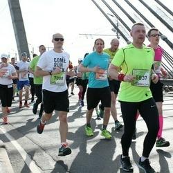 The 27th Lattelecom Riga Marathon - Agnis Kauliņš (5837), Marek Kahr (7088)