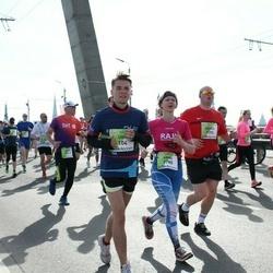 The 27th Lattelecom Riga Marathon - Uvis Grava (104), Anne Kinnunen (3780)