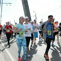 The 27th Lattelecom Riga Marathon - Aija Zandberga (3948), Marte Gronvold (4942), Robert Leveille (5072)