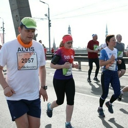 The 27th Lattelecom Riga Marathon - Alvis Tuņķelis (2057), Linda Putniņa (3700)