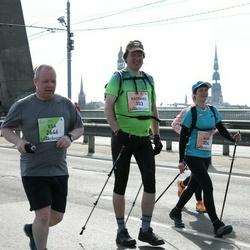 The 27th Lattelecom Riga Marathon - Kaspars Klētnieks (303), Esa Liimatta (2646)