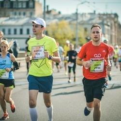 The 27th Lattelecom Riga Marathon - Aleksei Abramov (920), Aidan Padfield (2956)