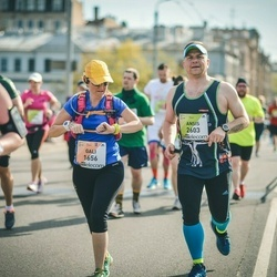 The 27th Lattelecom Riga Marathon - Gali Nathan Lavi (1656), Ansis Gornavs (2603)