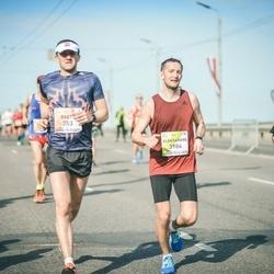 The 27th Lattelecom Riga Marathon - Brets Pirtnieks (353), Aleksandrs Moisejevs (3984)