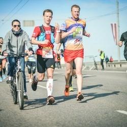 The 27th Lattelecom Riga Marathon - Agris Noviks (1381), Edijs Kauliņš (7042)