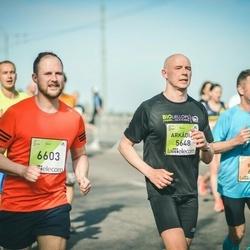 The 27th Lattelecom Riga Marathon - Arkādijs Zeņins (5648), Aigars Ozoliņš (6603)