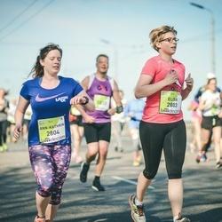 The 27th Lattelecom Riga Marathon - Elisa Bohl (2803), Ann-Kathrin Balzer (2804)