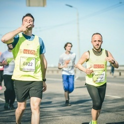 The 27th Lattelecom Riga Marathon - Antonio Mecca (4753), Giacomo Telesca (6822)