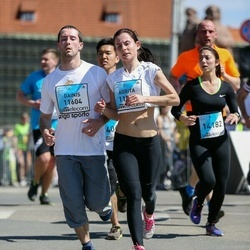The 27th Lattelecom Riga Marathon - Agrita Drozdova (11598), Dainis Krasnogolovs (11604)