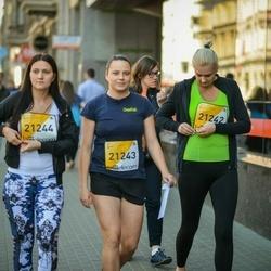 The 27th Lattelecom Riga Marathon - Agnija Apiņa (21242), Ilze Jegorova (21243), Laila Krūze (21244)