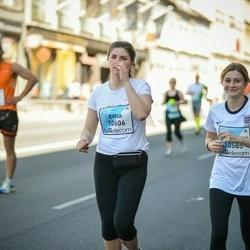 The 27th Lattelecom Riga Marathon - Jelizaveta Vinžanova (10585), Evija Ķišeniece (10606)