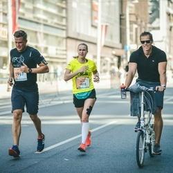 The 27th Lattelecom Riga Marathon - Aija Freiberga (1515), Andis Dzeguze (1967)