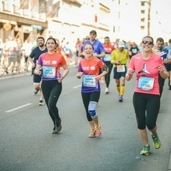 The 27th Lattelecom Riga Marathon - Anete Melnalksne (11709), Carina Probst (11710), Lisa Karer (11750)