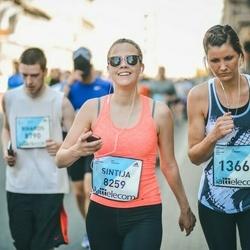 The 27th Lattelecom Riga Marathon - Agris Grīnis (9259), Baiba Rajecka (13667)
