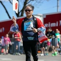 The 27th Lattelecom Riga Marathon - Makoto Nakatani (11441)