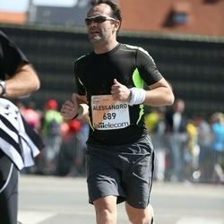 The 27th Lattelecom Riga Marathon - Alessandro Seren (689)