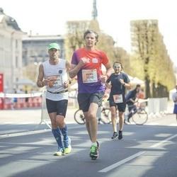 The 27th Lattelecom Riga Marathon - Andreas Schacht (569), Agris Samcovs (1590)