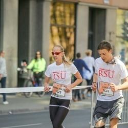 The 27th Lattelecom Riga Marathon - Emma Maja Walfridsson (1423), Lukas Lindenberg (1426)