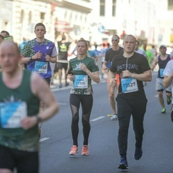 The 27th Lattelecom Riga Marathon - Diāna Ķirsone (11305), Aliaksandr Praharenka (13527)