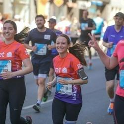 The 27th Lattelecom Riga Marathon - Anete Melnalksne (11709), Carina Probst (11710)