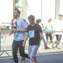 The 27th Lattelecom Riga Marathon - Jānis Melbārdis (10347), Emīls Līcītis (12451)