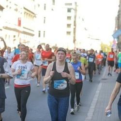 The 27th Lattelecom Riga Marathon - Rūta Akmeņkalēja (8282), Agnese Bačinska (8635), Uldis Jumejs (9901)