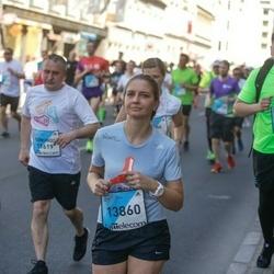 The 27th Lattelecom Riga Marathon - Raimonds Meiruška (8434), Anastasiia Bogdanova (13860)